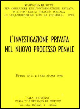 Private investigations in the new criminal trial